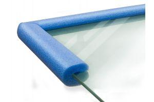 Профиль ППЭ для защиты торцов стекла